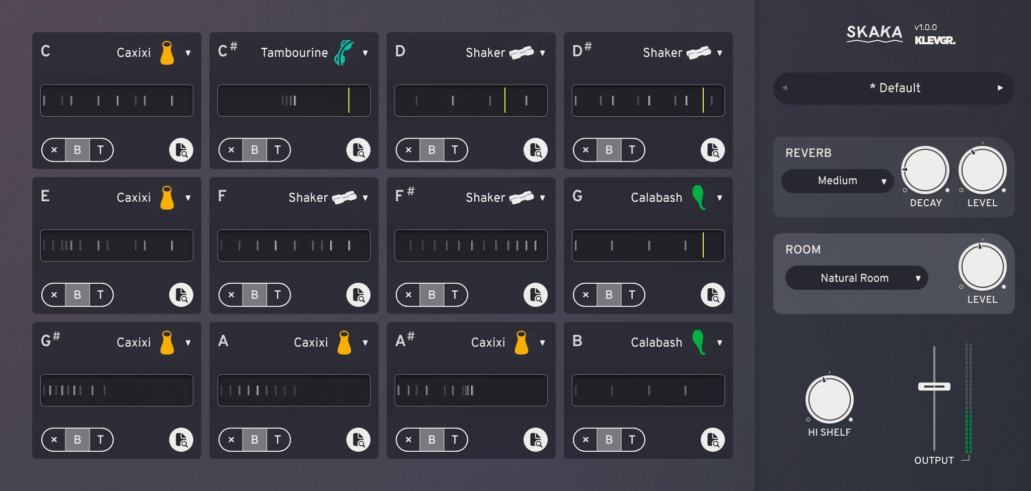 Klevgrand Skaka 1.0.0 WIN OSX Mac 破解版 振动筛打击乐器